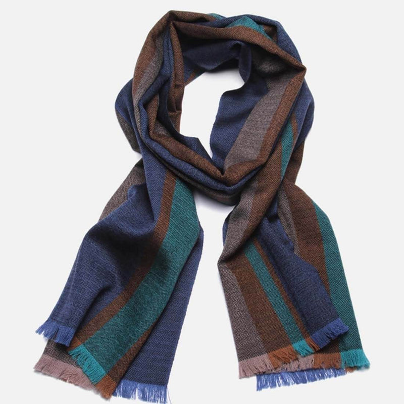 Men's Fashion Wool Scarf - Aptro