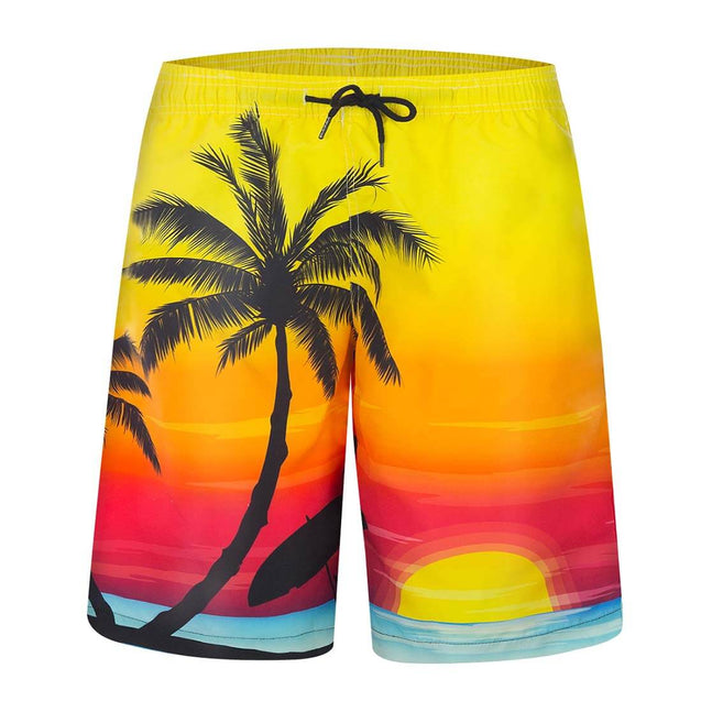 APTRO Men's Swim Trunks Coconut Tree - Aptro Fashion