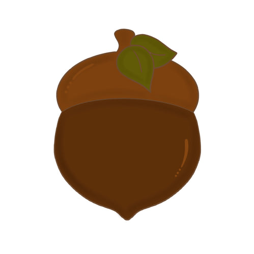 Acorn with Leaves Cookie Cutter