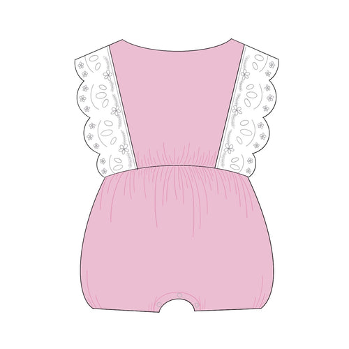 Ruffled Sleeves Baby Jumper Cookie Cutter