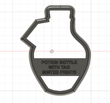 Load image into Gallery viewer, Valentine's Potion Bottle Cookie Cutter Set
