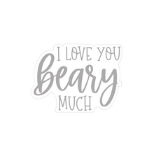 "Load image into Gallery viewer, ""I Love You Beary Much"" Cookie Cutter"