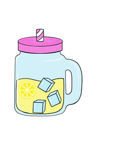 Mason Jar Drink Cookie Cutter