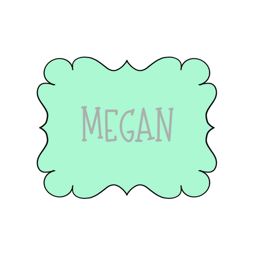 Megan Plaque Cookie Cutter