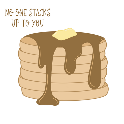 Pancake Stack Cookie Cutter