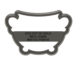 Build Your Own Pot of Gold with Coins Cookie Cutter