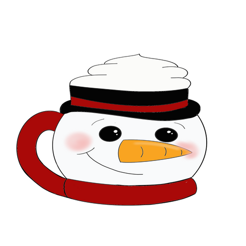 Snowman Mug Cookie Cutter