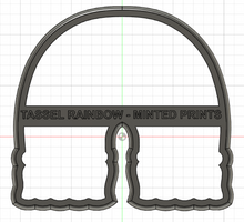 Load image into Gallery viewer, Tassel Rainbow Cookie Cutter