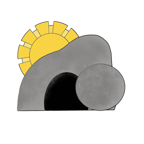Christ's Tomb with Sunrise Cookie Cutter