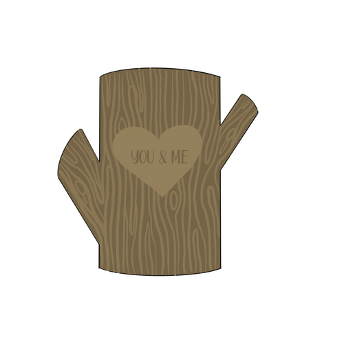 Tree Stump Cookie Cutter