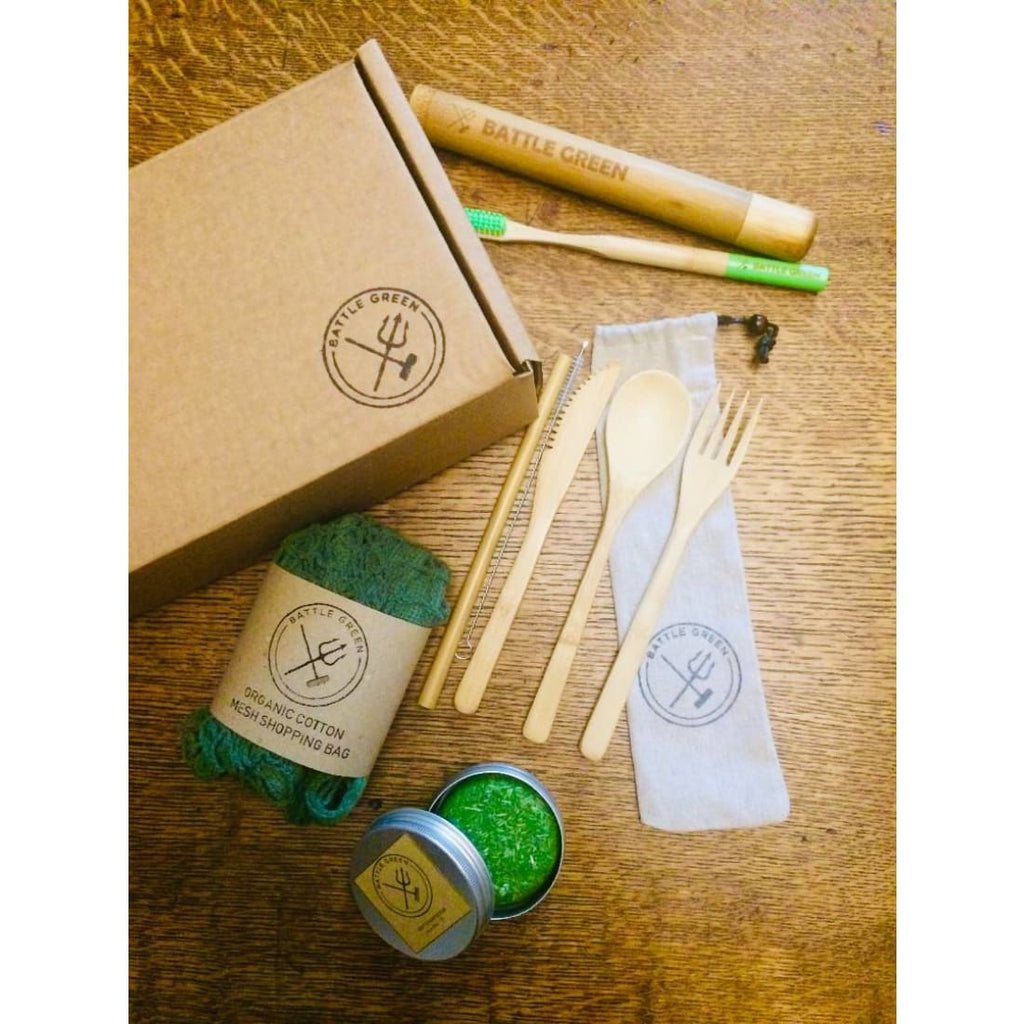 Battle Green Starter Kit - Medium - Gift Box / Starter Kit | Humble Market