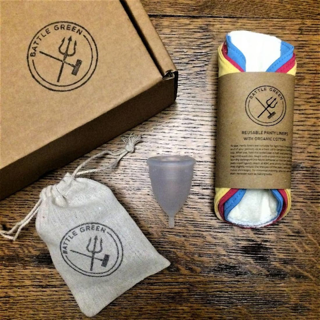 Battle Green - Zero Waste Period Box - Gift Box / Starter Kit | Humble Market