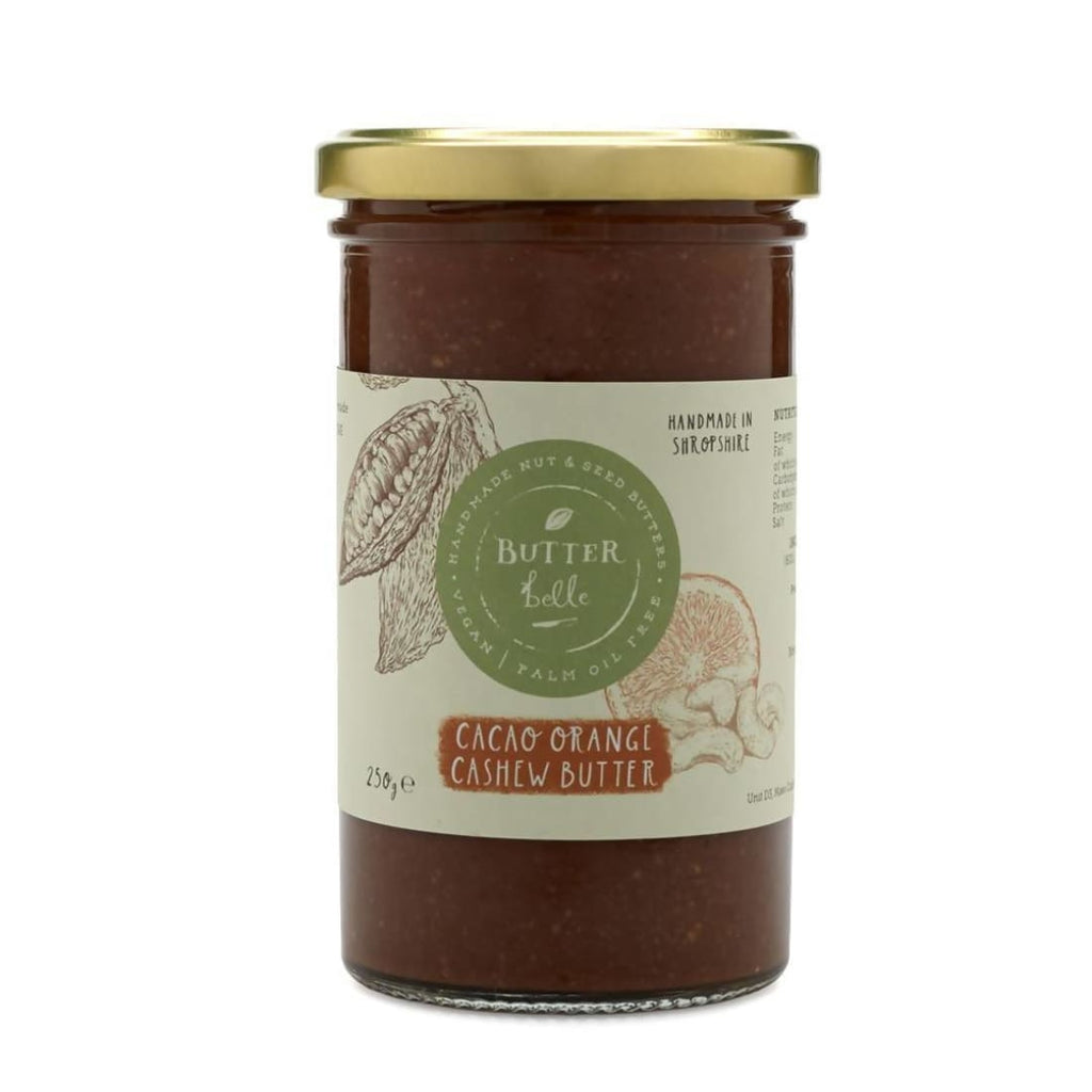Cacao and Orange Cashew Butter - Butter | Humble Market
