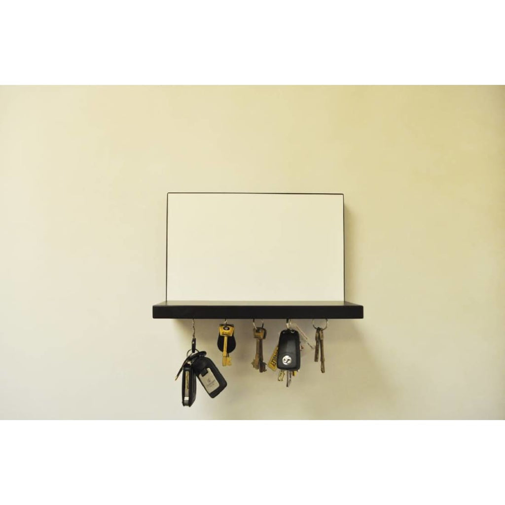 Hugo Magnetic Whiteboard Shelf - Black Shelf | Humble Market