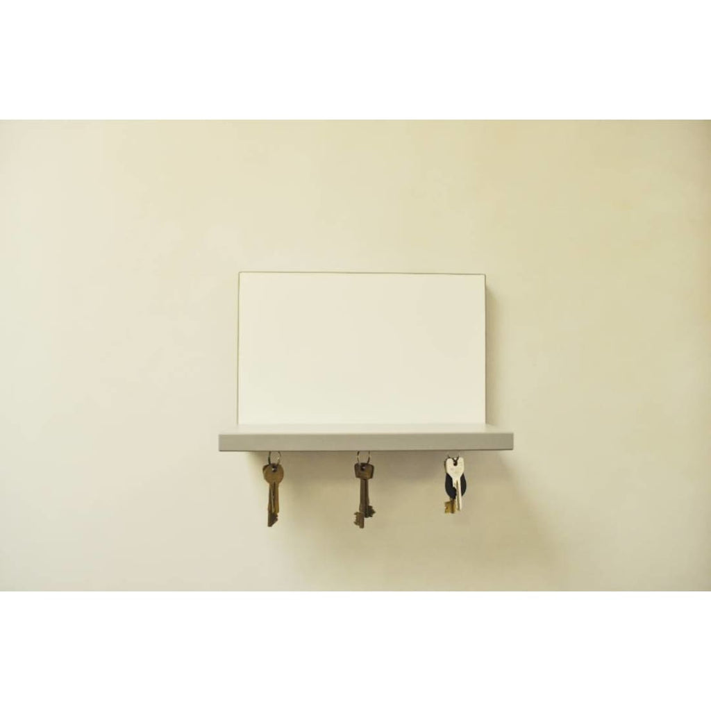 Hugo Magnetic Whiteboard Shelf - Grey Shelf | Humble Market