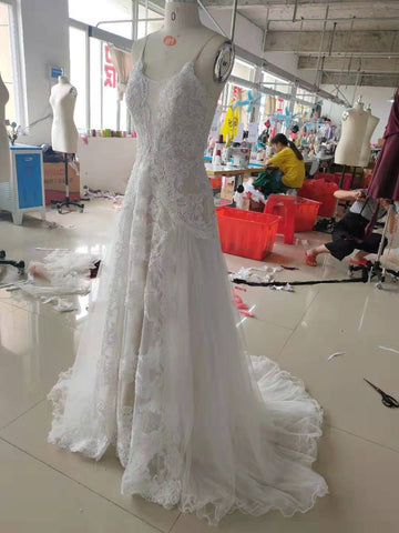 wedding dress by promfast.com