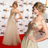 Sweetheart A Line Gold Sequin Tulle Long Sleeveless Prom Dresses PFP0197