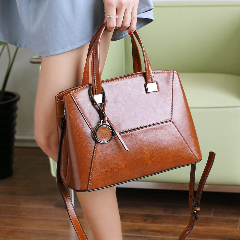 Fashion Genuine Leather Women Bags