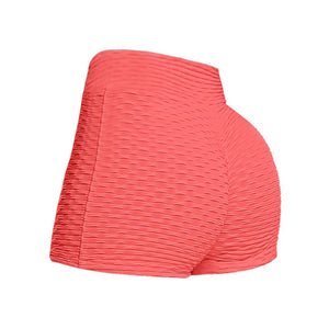 Short Breathable Sports Fitness Panties Solid Color