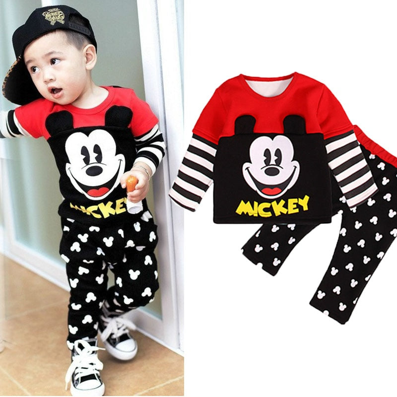 Unisex Disney Mickey Kids Clothes