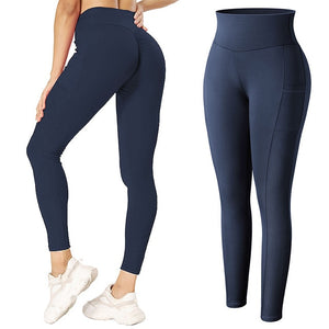High Waist Leggings With Pocket Women