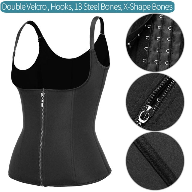 Fitness Corset Workout Thermo Modelling Strap Shapewear