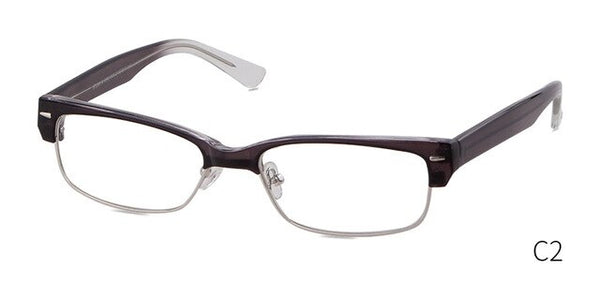STORY square clear glasses frame women
