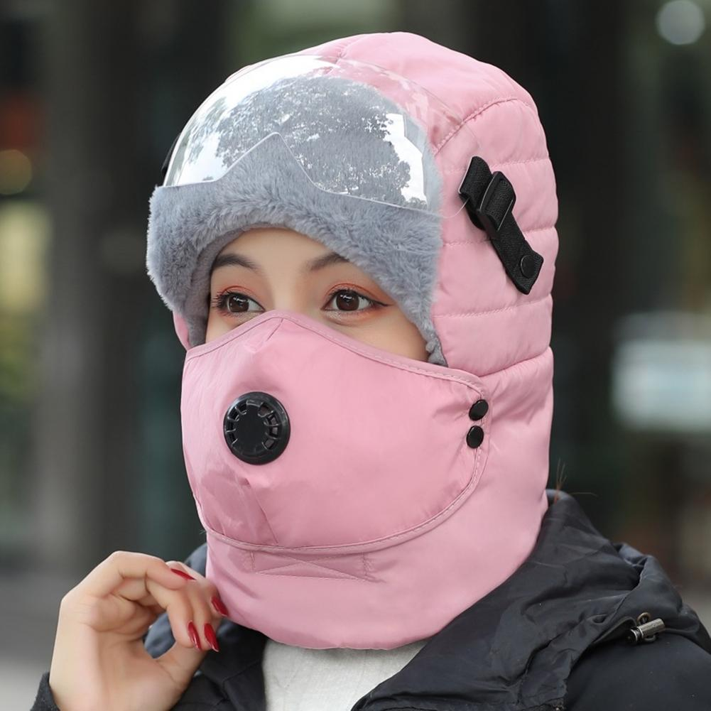 Face Cap Winter Women Warm Plush Mask