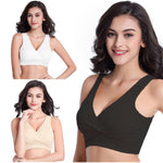 Maternity Nursing Bra Wirefree Sleep Breastfeeding Bras for Pregnant Women