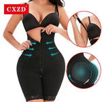Full Body Shapewear Underbust Tummy Seamless Postpartum Girdle Control Bodysuit