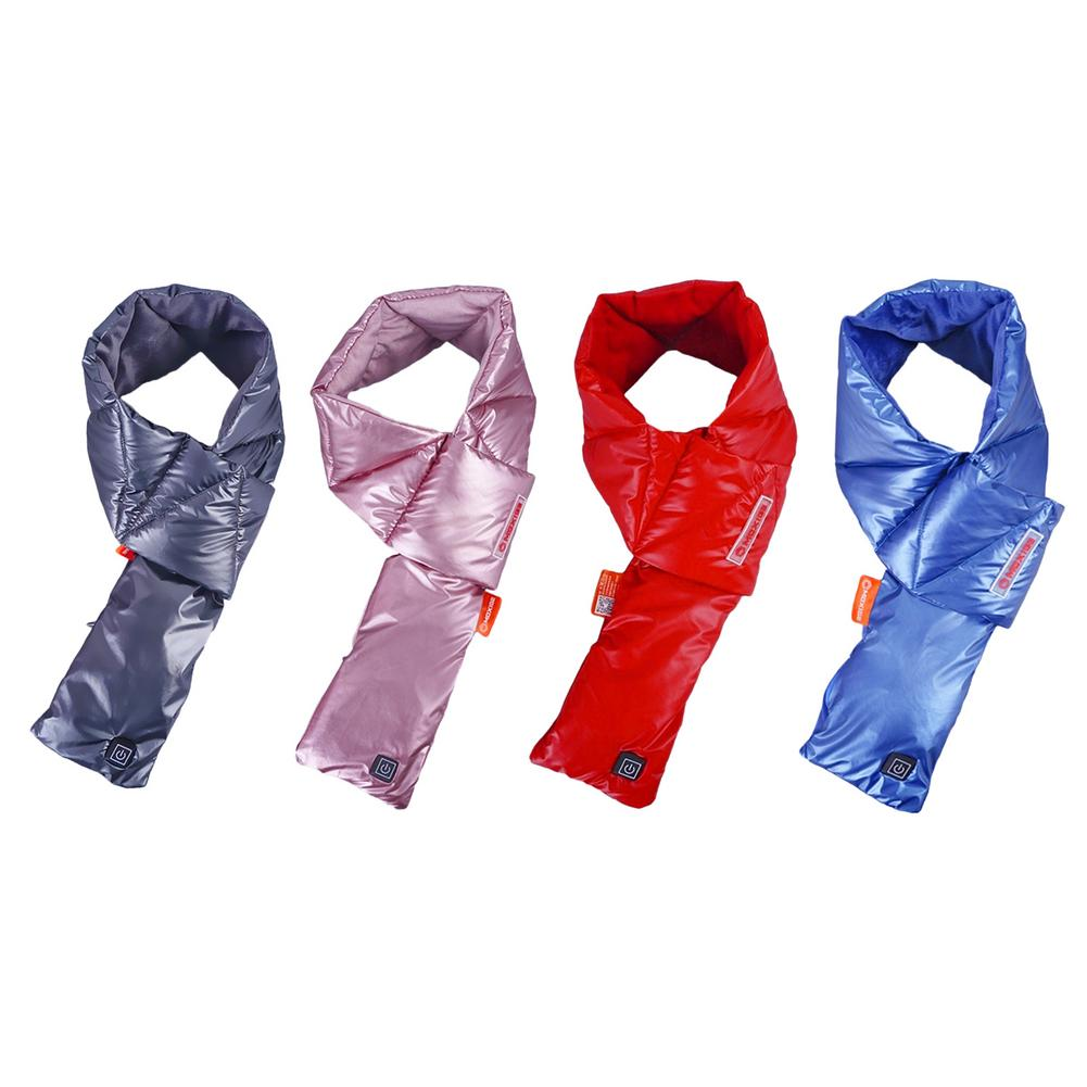 Neck Warmer Scarf For Outdoor Camping Hiking Cycling USB Heating Scarf