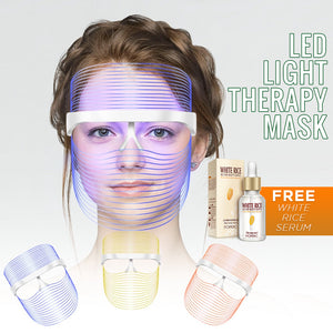 LED Light Therapy Mask (Plug-In or Rechargeable)