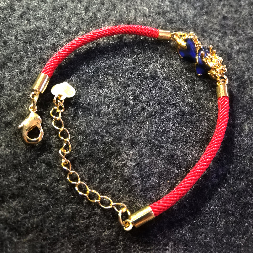 Lucky Golden Pi-Yao Bracelet (Money Catcher)
