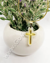 Hetian Jade Holy Cross (18k Gold Plated)