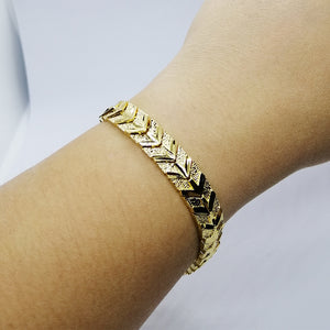 Thailand Linked Gold Bracelet (Set of 2)