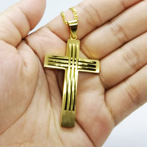 Wolverine Cross Necklace