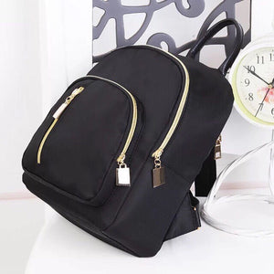 Fashion Korean Small Backpack (Black)