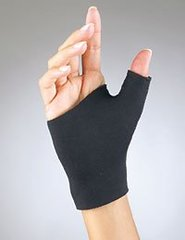FLA Pro-Lite Neoprene Pull-On Thumb Support, Black, Medium 1 ea