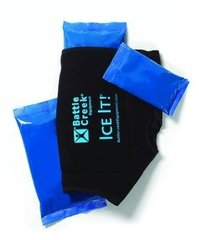 "Battle Creek Ice It!® Knee System - 12"" x 13"" - Includes 2 - 6"" x 12"" ice packs"