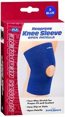 Fla Neoprene Knee Sleeve Open Patella - Small,