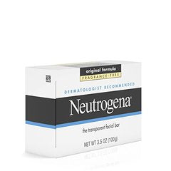 Neutrogena Facial Cleansing Bar, Fragrence Free, 3.5 Oz
