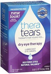 TheraTears Dry Eye Therapy Lubricant Eye Drops - 32 containers, 0.65 oz ampules