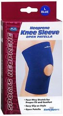 Fla Knee Sleeve Neoprene, Navy - Large,