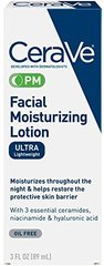 CeraVe Facial Moisturizing Lotion PM Ultra Lightweight 3 oz
