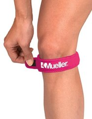 Mueller Jumpers Knee Strap, Pink, One Size Fits Most, 1-Count Packages (Pack of 3)