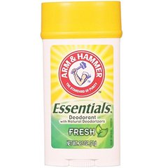 ARM & HAMMER Essentials Natural Deodorant, Fresh 2.5 oz