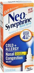 Neo-Synephrine Spray Cold & Sinus Extra Strength - 0.5 oz