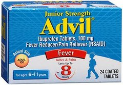 Advil Junior Strength (24 Count) Fever Reducer