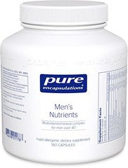 Pure Encapsulations - Men's Nutrients - Hypoallergenic Multivitamin/Mineral Complex for Men over 40