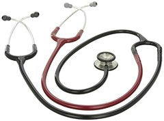 3M Littmann Classic II S.E. Teaching Stethoscope, Black and Burgundy Tube, 40 inch, 2138